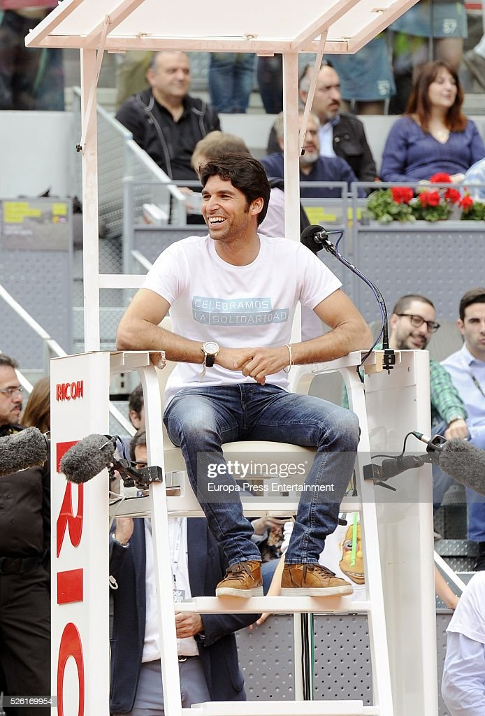 Cayetano Rivera attends Charity Day Tournament during Mutua Madrid Open at La Caja Magica on April 29, 2016 in Madrid, Spain.