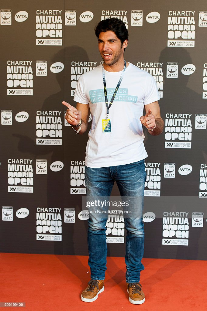 Cayetano Rivera attends Charity day tournament during Mutua Madrid Open at Caja magica on April 29, 2016 in Madrid, Spain.
