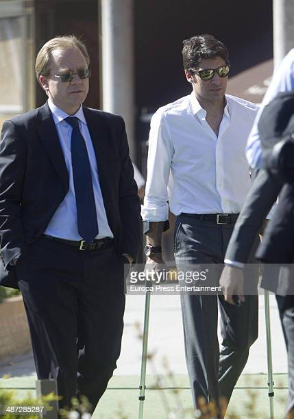 Cayetano Rivera is seen on April 8 2014 in Madrid Spain