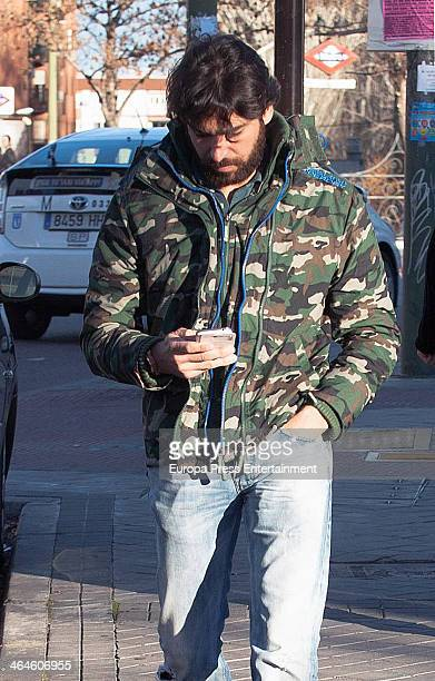 Cayetano Rivera is seen on January 13 2014 in Madrid Spain