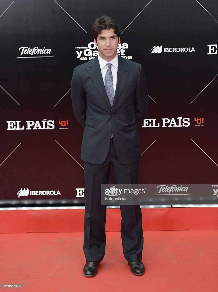 Cayetano Rivera Ordonez attends the El Pais 40th anniversary dinner and 'Ortega y Gasset' awards ceremony at the Palacio de Cibeles on May 5, 2016 in Madrid, Spain.