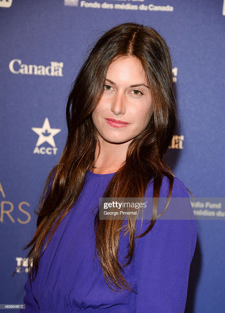 Cayley Stoker attend the Telefilm Canada Oscar Week Gala held at The Four Seasons Hotel on February 19 2015 in Beverly Hills California