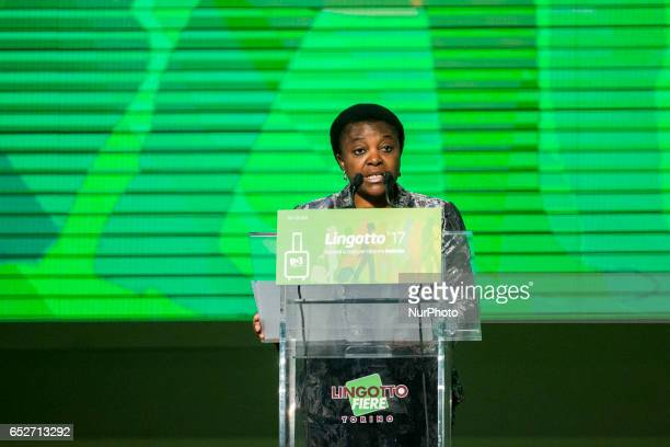 Cécile Kyenge speaks at Lingotto17 event to support Matteo Renzi She was the Minister for Integration in the 201314 Letta Cabinet The former Prime...