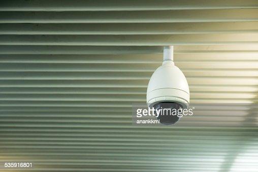 cctv camera : Stock Photo