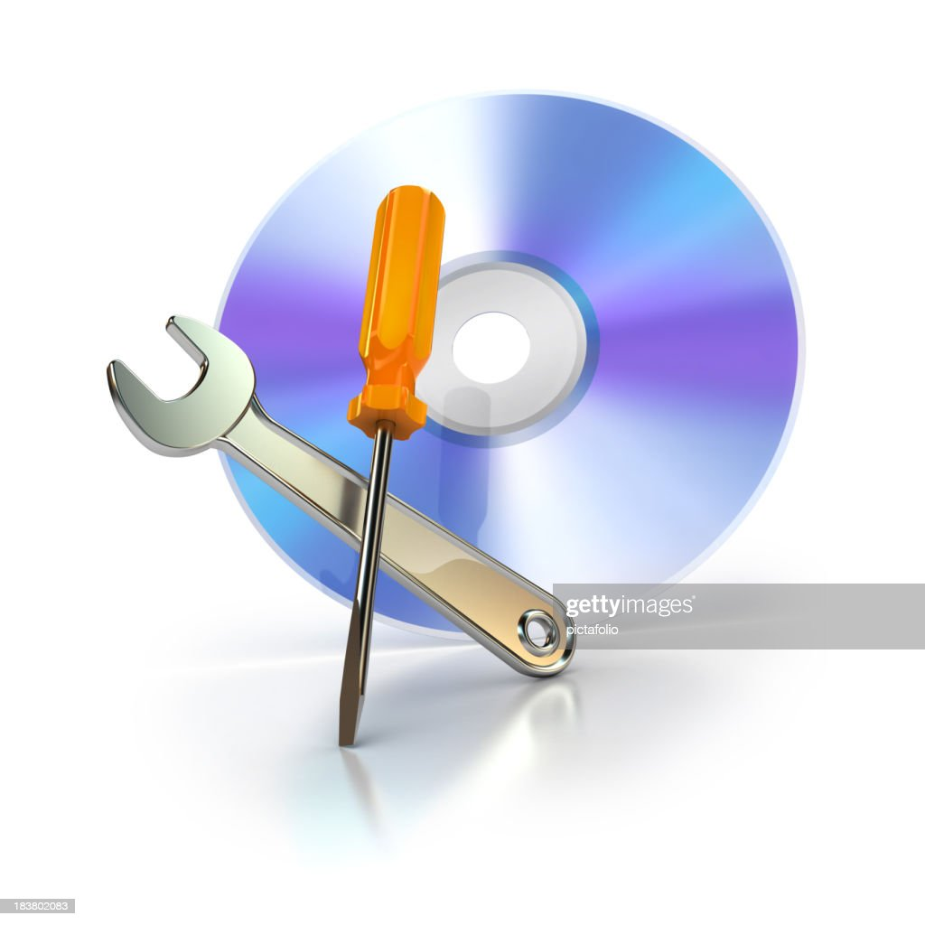 cd or dvd with support tools