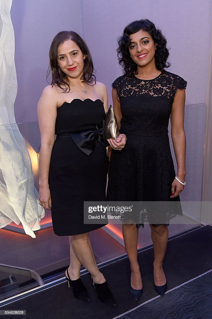 Ceanne Fernandes-Wong(L) and Sushma Sagar arrive at the WGSN Futures Awards 2016 on May 26, 2016 in London, England.