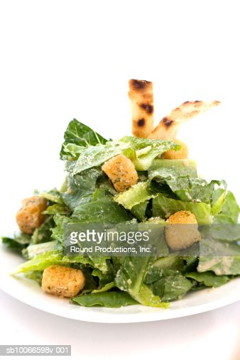 Ceasar salad : Stock Photo