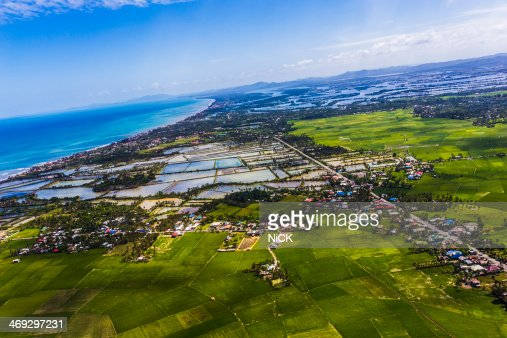 Cebu countryside aerial view