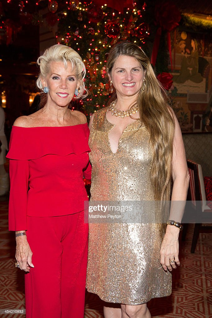 Cece Black and <a gi-track='captionPersonalityLinkClicked' href=/galleries/search?phrase=Bonnie+Comley&family=editorial&specificpeople=2000676 ng-click='$event.stopPropagation()'>Bonnie Comley</a> pose together at Stewart F. Lane - aka 'Mr. Broadway' & <a gi-track='captionPersonalityLinkClicked' href=/galleries/search?phrase=Bonnie+Comley&family=editorial&specificpeople=2000676 ng-click='$event.stopPropagation()'>Bonnie Comley</a>'s Holiday Party at The Doubles Club on December 6, 2013 in New York City.
