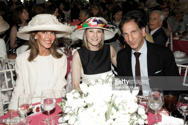 Cece Cord Lizzie Tisch and Stephen Drucker attend CENTRAL PARK CONSERVANCY's 28th Annual Fredrick Law Olmsted Awards Luncheon at Conservatory Garden...