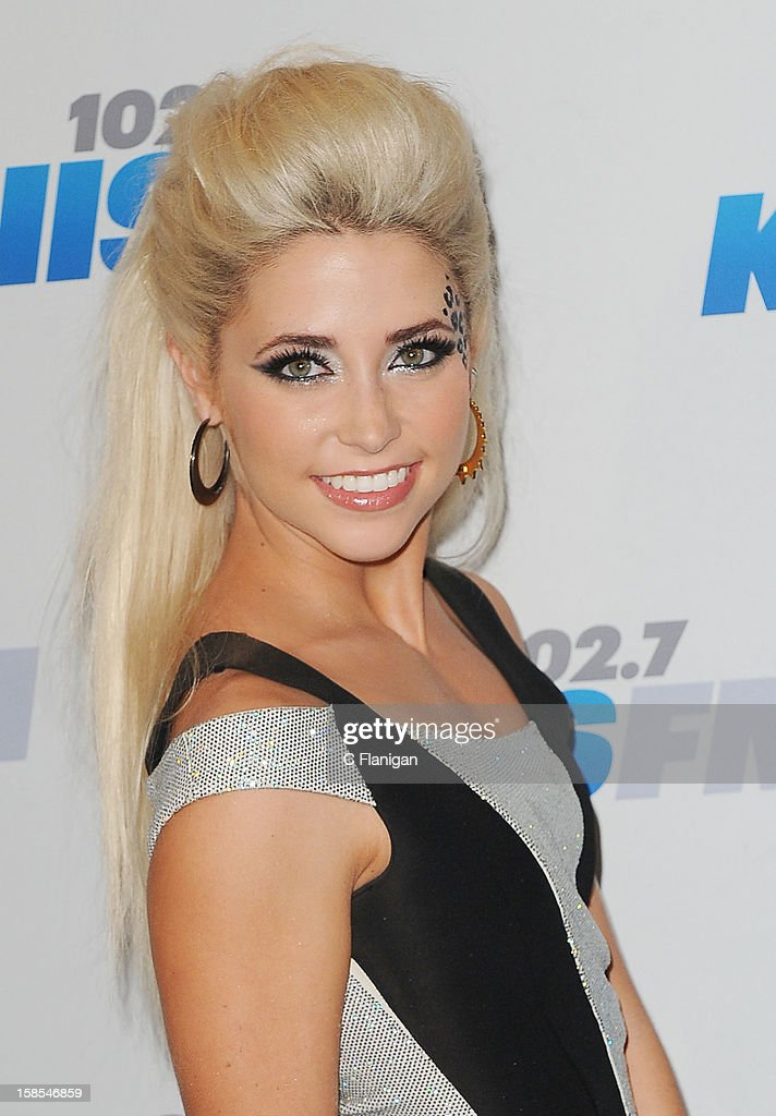 CeCe Frey arrives at the 2012 KIIS FM Jingle Ball at Nokia Theatre LA Live on December 1 2012 in Los Angeles California