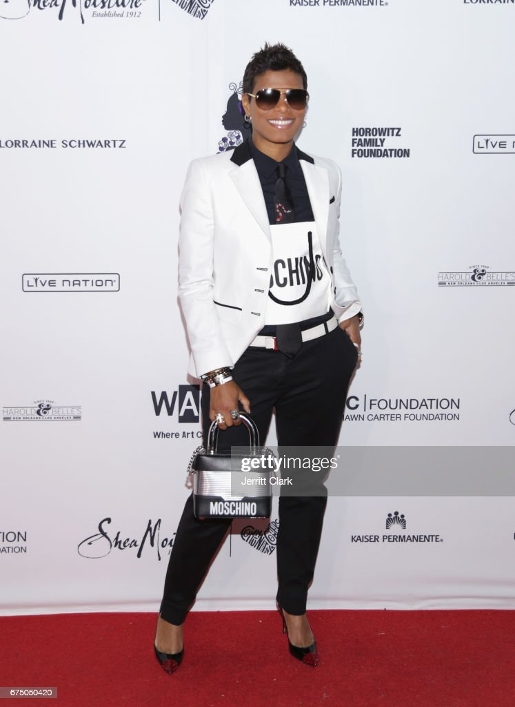 Cece Hendriks attends the Wearable Art Gala - Arrivals at California African American Museum on April 29, 2017 in Los Angeles, California.