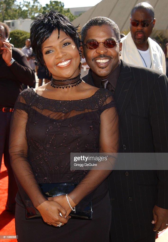 Cece Winans & husband Alvin Love
