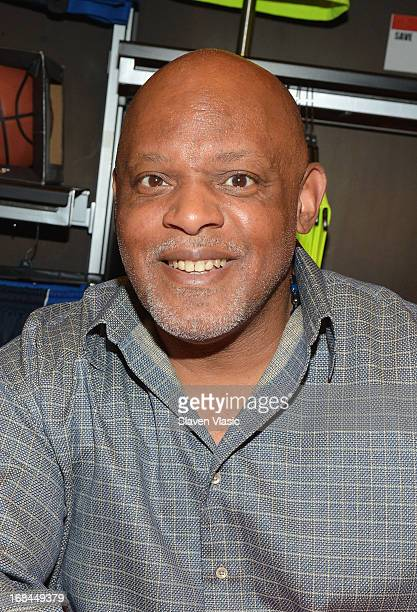 Cecil Fielder attends 'Joey Glick' LookALike contest at Modell's Sporting Goods Store on May 9 2013 in New York City