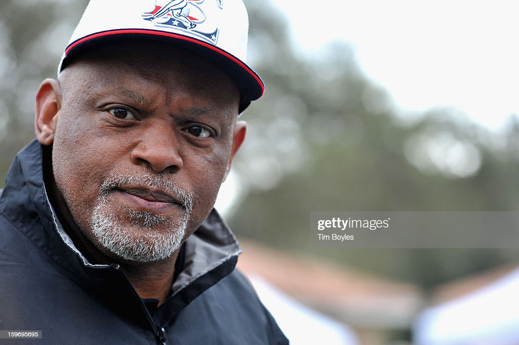 Cecil Fielder attends the Derek Jeter 10th Annual Celebrity Golf Tournament Classic to benefit his Turn 2 Foundation presented by Seminole Hard Rock Hotel & Casino at Avila Golf & Country Club on January 18, 2013 in Tampa, Florida.