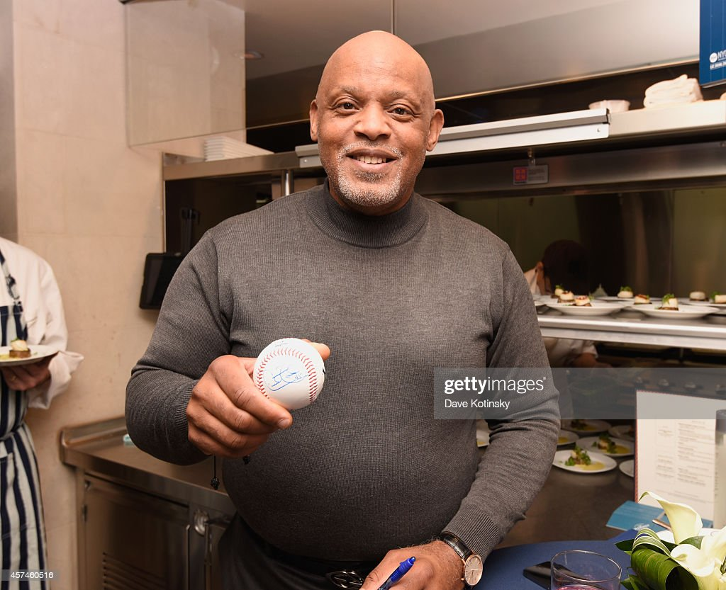 <a gi-track='captionPersonalityLinkClicked' href=/galleries/search?phrase=Cecil+Fielder&family=editorial&specificpeople=220765 ng-click='$event.stopPropagation()'>Cecil Fielder</a> attends the New York Yankees All Star Brunch sponsored by Delta Air Lines hosted by Josh Capon during the Food Network New York City Wine & Food Festival Presented By FOOD & WINE at NYY Steak Manhattan on October 18, 2014 in New York City.