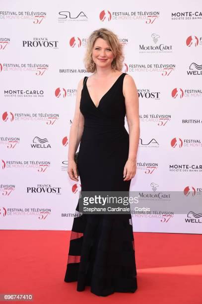 Cecile Bois attends the 57th Monte Carlo TV Festival Opening Ceremony on June 16 2017 in MonteCarlo Monaco