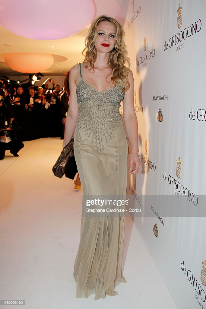 Cecile Breccia at the 'de Grisogono Party' during the 63rd Cannes International Film Festival.