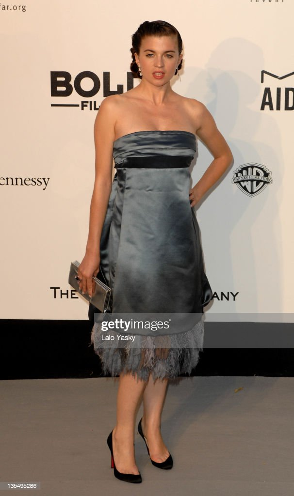 Cecile Cassel at amfAR's Cinema Against AIDS event, presented by Bold Films, the M•A•C AIDS Fund and The Weinstein Company to benefit amfAR