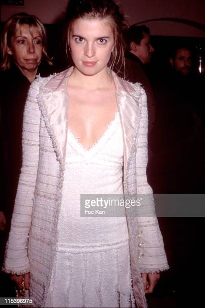 Cecile Cassel during Blueberry Paris Premiere After Party at After Show Party at Salle Wagram in Paris France