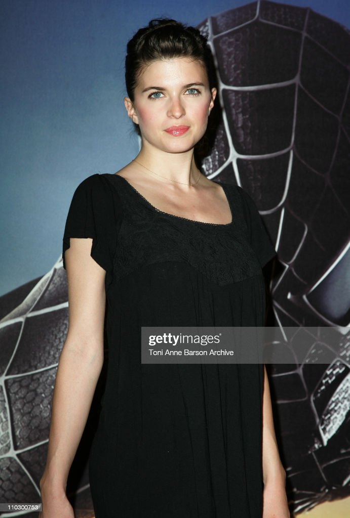Cecile Cassel during 'SpiderMan 3' Paris Premiere Inside Arrivals at Le Grand Rex Theater in Paris France