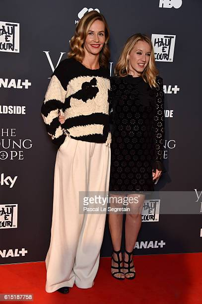 Cecile de France and Ludivine Sagnier attend 'The Young Pope' Paris Premiere at la cinematheque on October 17 2016 in Paris France