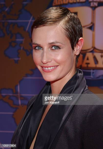Cecile de France during 'Around The World In 80 Days' Los Angeles Premiere Arrivals at The El Capitan Theatre in Hollywood California United States