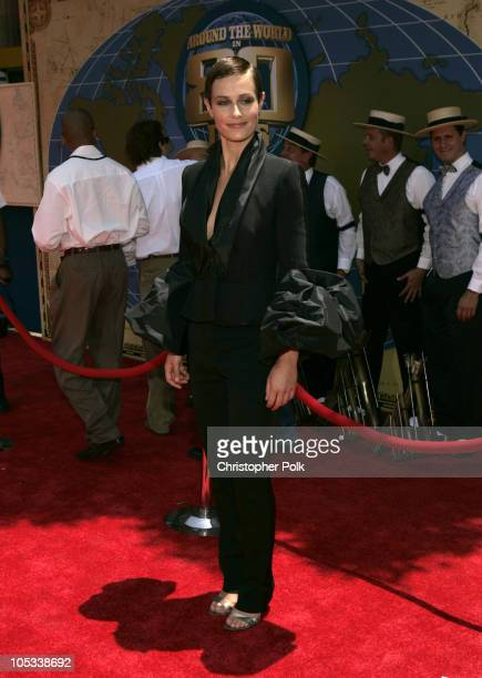 Cecile de France during 'Around the World in 80 Days' Los Angeles Premiere Red Carpet at The El Capitan Theatre in Hollywood California United States