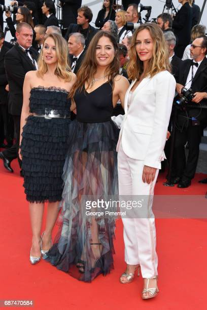 Cecile de France Izia Higelin and Ludivine Sagnier attend the 70th Anniversary screening during the 70th annual Cannes Film Festival at Palais des...