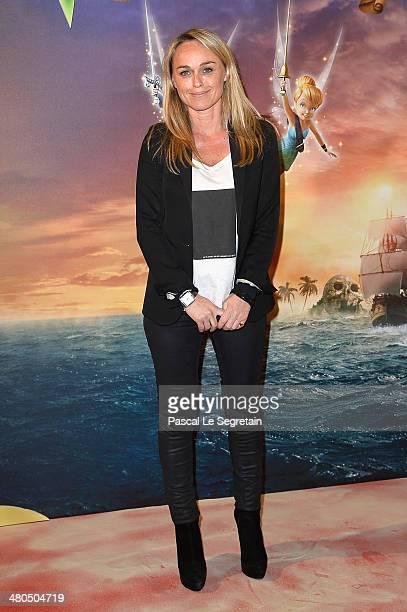 Cecile de Menibus attends 'Clochette et la Fee Pirate' Premiere at Gaumont Champs Elysees on March 25 2014 in Paris France