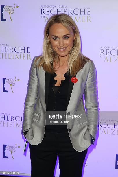 Cecile de Menibus attends the 10th Charity Gala Against Alzheimer's Disease At L'Olympia In Paris at L'Olympia on January 19 2015 in Paris France