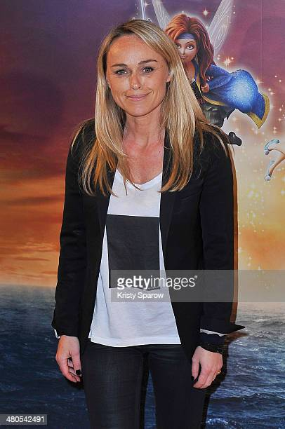 Cecile de Menibus attends the 'Clochette et la Fee Pirate' Premiere at Gaumont Champs Elysees on March 25 2014 in Paris France
