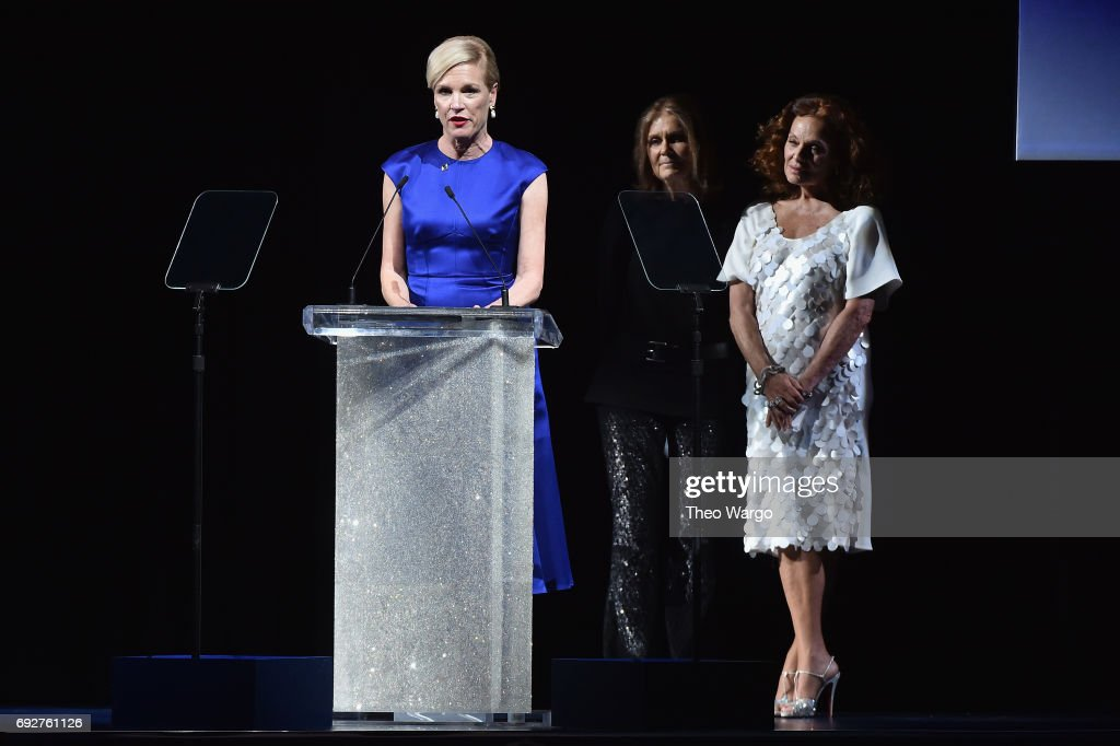 Cecile Richards speaks onstage during the 2017 CFDA Fashion Awards at Hammerstein Ballroom on June 5, 2017 in New York City.