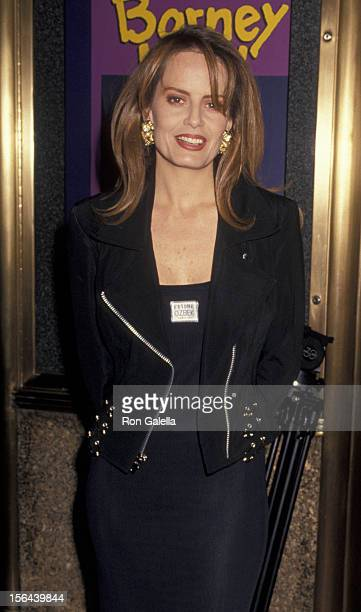 Cecilia Bolocco attends 34th Annual Grammy Awards on March 1 1994 at Radio City Music Hall in New York City