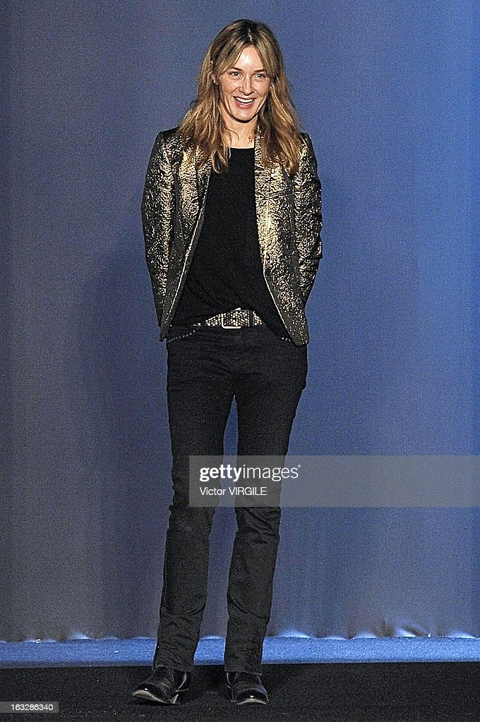 Cecilia Bonstrom walks the runway during the Zadig & Voltaire Fall/Winter 2013 Ready-to-Wear show as part of Paris Fashion Week at Hotel Westin on March 5, 2013 in Paris, France.