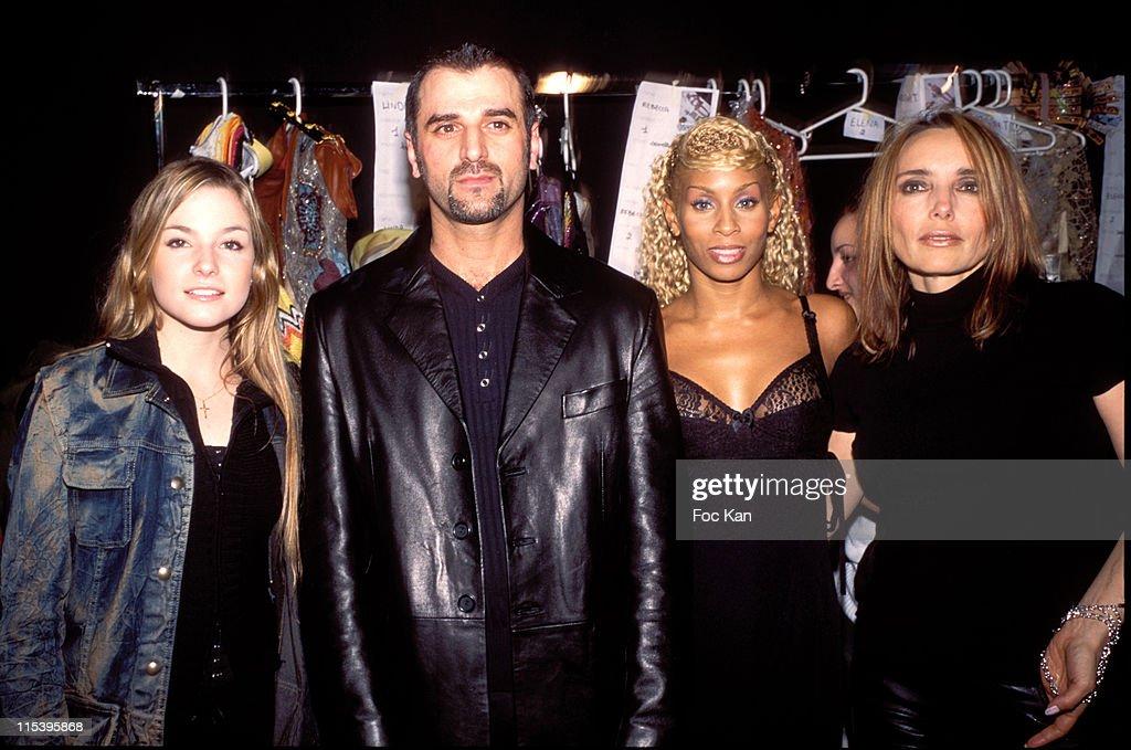 Paris Haute Couture Spring/Summer 2004 - Hobeika show Front Row