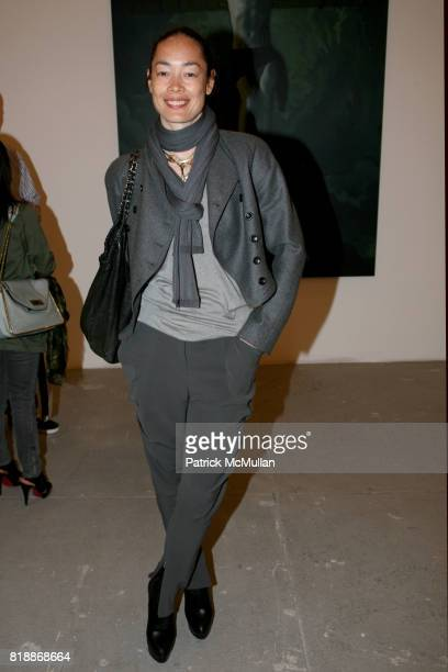 Cecilia Dean attends 'The Transformation of ENRIQUE MIRON as El Diablo' by PAUL ROWLAND at 548 W 22nd St on April 29 2010 in New York