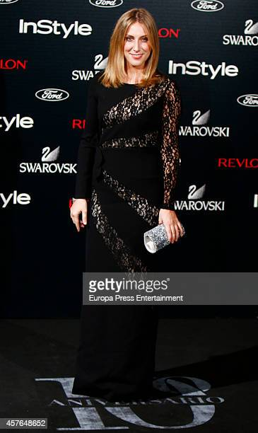 Cecilia Freire attends the InStyle Magazine 10th anniversary party on October 21 2014 in Madrid Spain