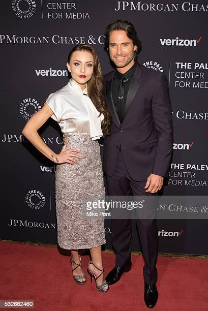 Cecilia Galliano and Sebastian Rulli attend the 2016 Paley Center for Media's Tribute To Hispanic Achievements In Television at Cipriani Wall Street...