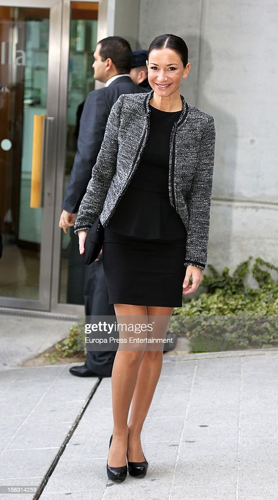 Cecilia Gomez attends Spanish Olympic Commitee Centenary Gala at El Canal Theatre on December 12, 2012 in Madrid, Spain.