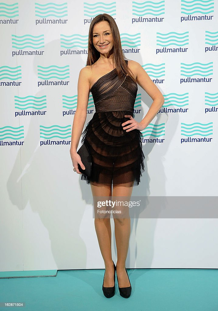 Cecilia Gomez attends the Blue Night by Pullmantur at Neptuno Palace on February 28, 2013 in Madrid, Spain.