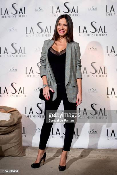 Cecilia Gomez during 'La Sal Del Mentidero' Inauguration on November 15 2017 in Madrid Spain