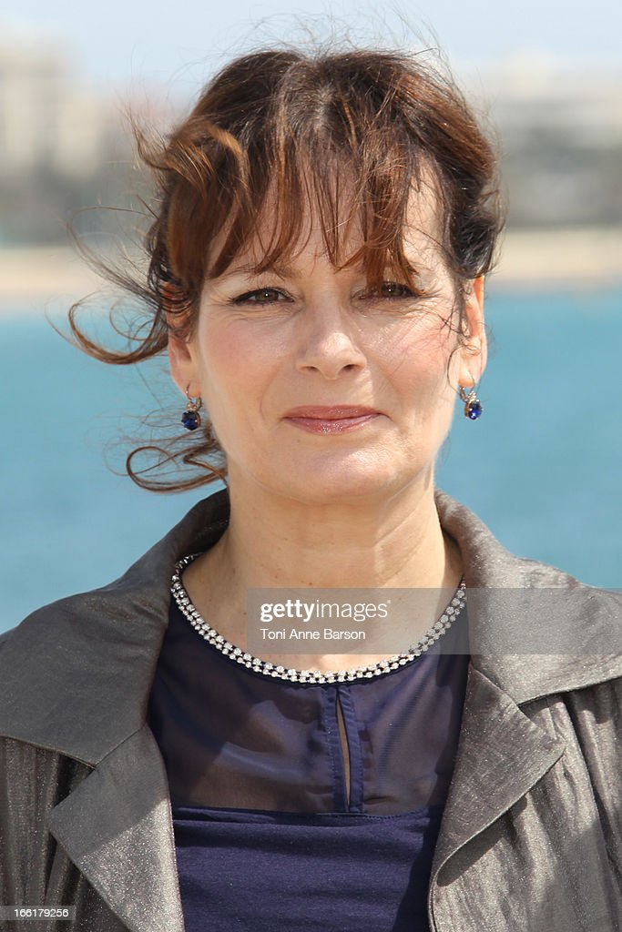 Cecilia Hornus attends the 'Marseille' photocall on April 9, 2013 in Cannes, France.