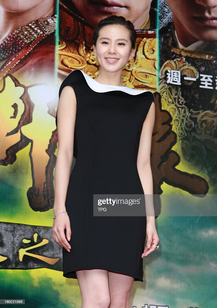 Cecilia Liu attended TV drama activity on Sunday January 27, 2013 in Taipei, Taiwan, China.