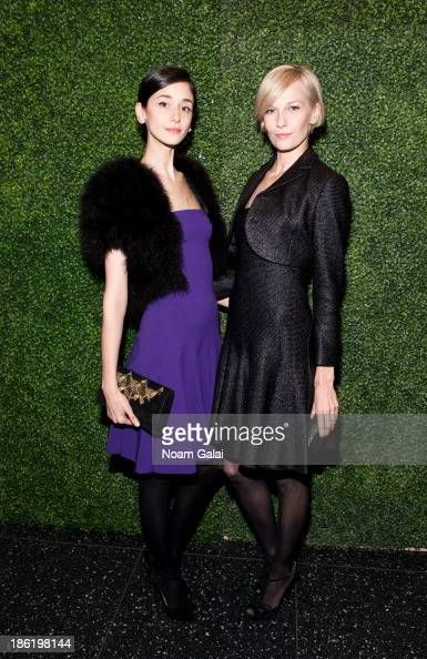 Cecilia Mendez and Katia Kokoreva attend the 'To Catch A Thief' RALPH LAUREN screening celebrating the PRINCESS GRACE FOUNDATION at The Museum of...