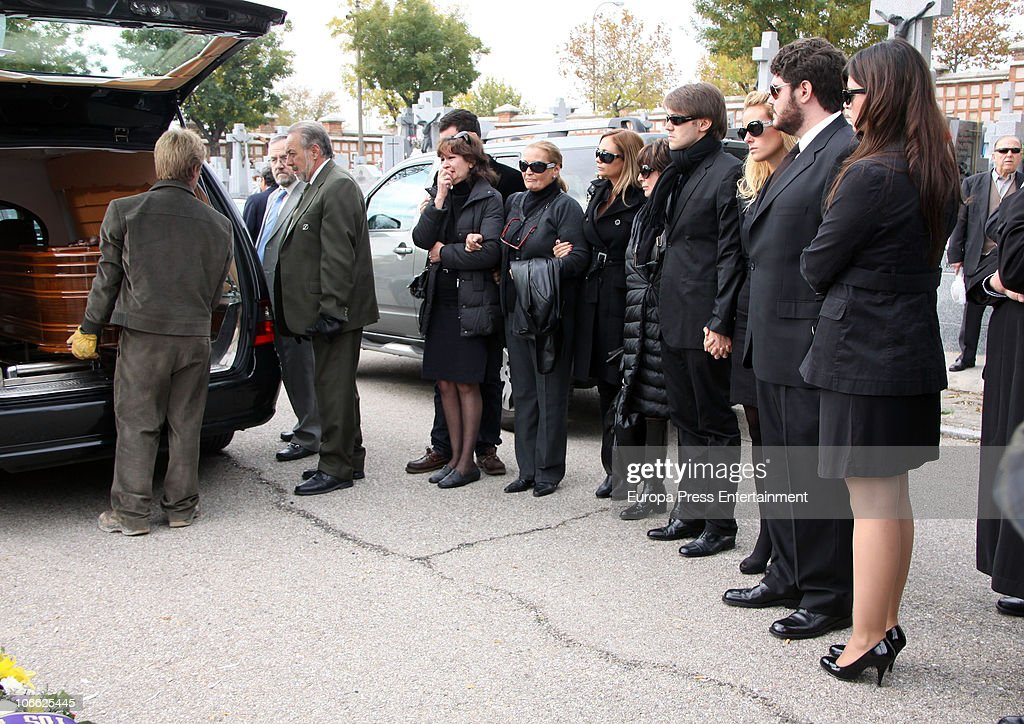 Funeral For Paco Marso In Madrid