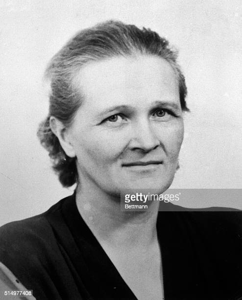 Cecilia PayneGaposchkin Phillips Astronomer of Harvard University who received the Honorary Degree of Doctor of Science at the 73rd Commencement...