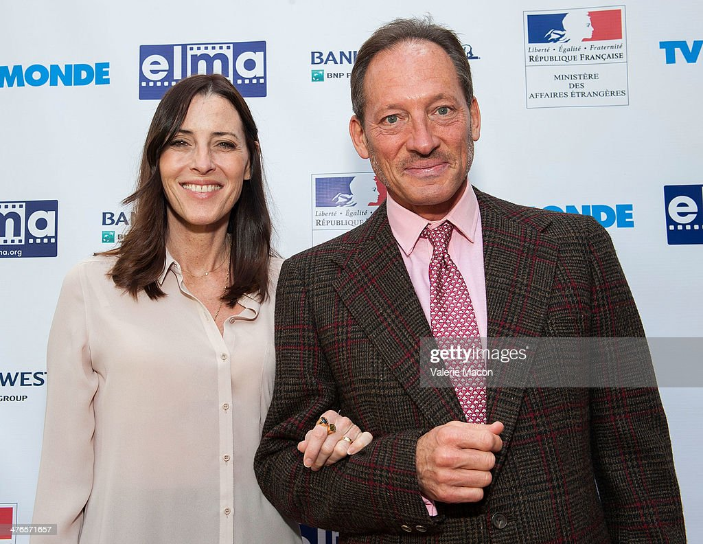 Cecilia Peck (L) and Anthony Peck attend The Consul General Of France, Mr. Axel Cruau, Honors The French Nominees For The 86th Annual Academy Awards party on March 3, 2014 in Beverly Hills, California.