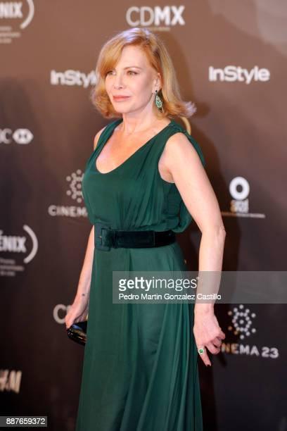 Cecilia Roth poses during Fenix Iberoamerican Film Awards 2017 at Teatro de La Ciudad on December 06 2017 in Mexico City Mexico