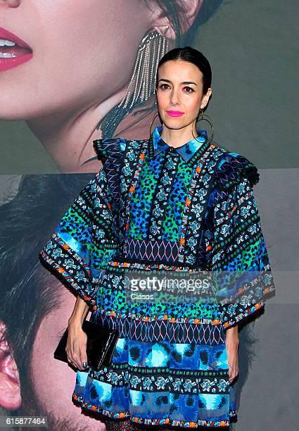 Cecilia Suarez attends La Vida Inmoral De La Pareja Ideal premiere and red carpet at Teatro Metropolitano on October 19 2016 in Mexico City Mexico